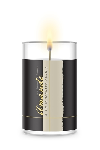 Sustainable Coated Candle Mockup