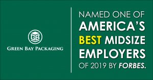 Forbes, Green Bay Packaging, Best Midsize employer,