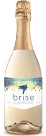Sustainable Coated Champagne Bottle Label